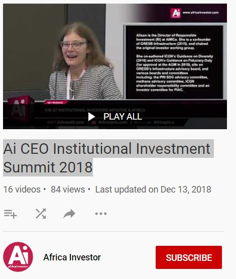 Ai CEO Institutional Investment Summit 2018