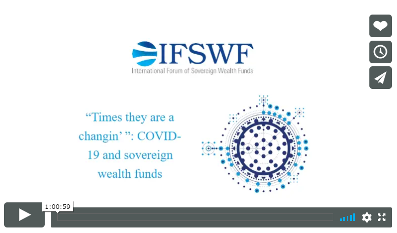 Sovereign Wealth Funds in the time of Covid-19
